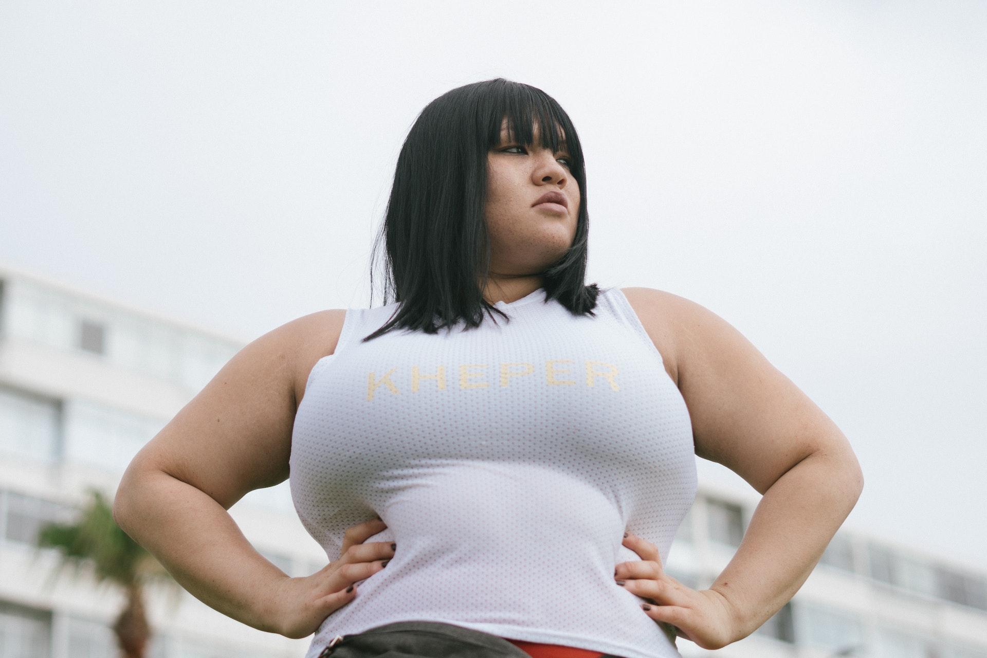 Plus Size Frauen